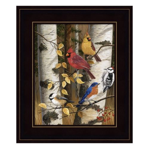 Autumn Friends Framed Wall Art