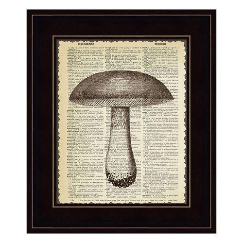 Mushroom Framed Wall Art