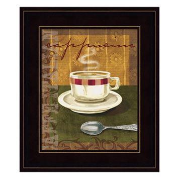 Cappuccino Framed Wall Art