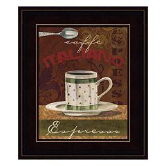 Espresso Framed Wall Art