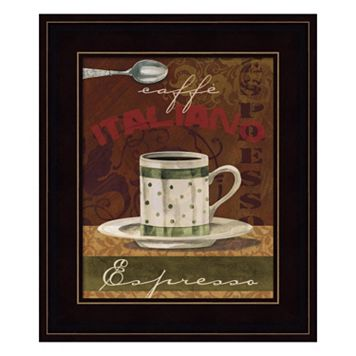 Espresso Framed Wall Art