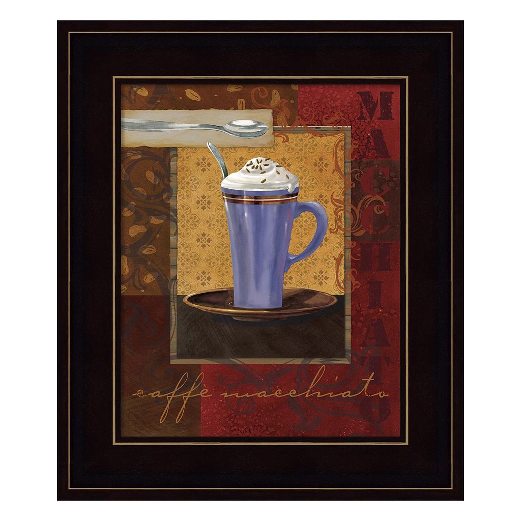 Macchiato Framed Wall Art