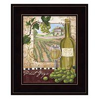 Wine Country II Framed Wall Art