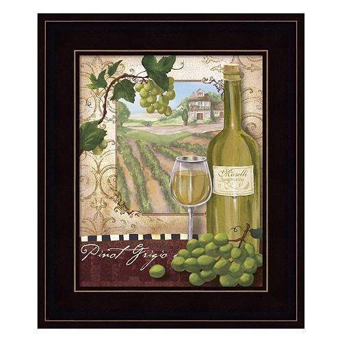 Wine Country II Framed Wall Art