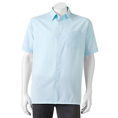 Men's Croft & Barrow® Signature Classic-Fit Microfiber Button-Down Shirt
