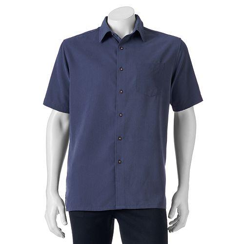 Men's Croft & Barrow® Signature Classic-Fit Microfiber Button-Down Shirt