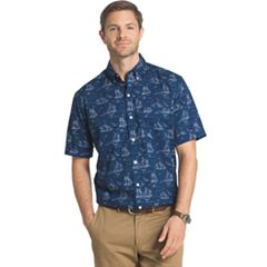 Big & Tall Arrow Printed Button-Down Shirt