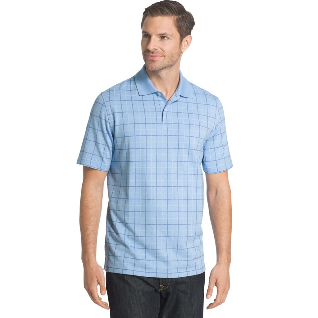 Big & Tall Arrow Window Pane Polo