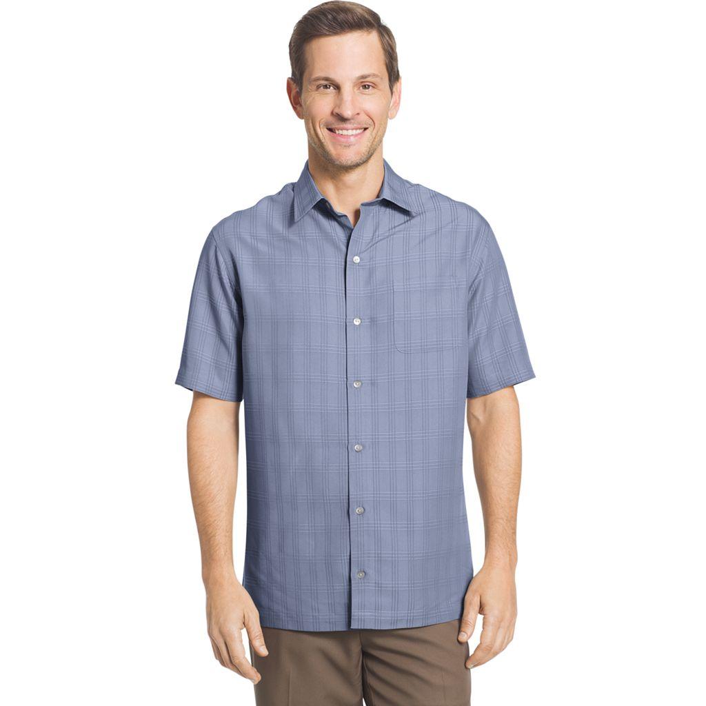 Big & Tall Van Heusen Classic-Fit Striped Dobby Button-Down Shirt