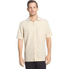 Big & Tall Van Heusen Classic-Fit Striped Dobby Button-Down Shirt