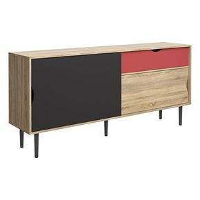 Unti Multicolored Sideboard Storage Cabinet