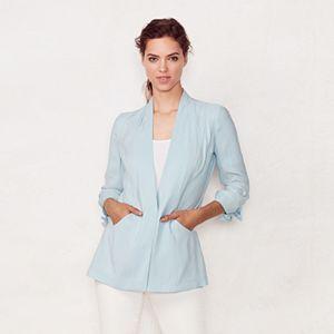 Women's LC Lauren Conrad Ruched Blazer