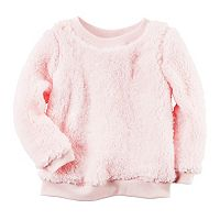 Girls 4-8 Carter's Sherpa Crew Pullover
