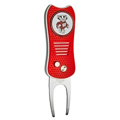 Team Golf Wisconsin Badgers Switchfix Divot Repair Tool