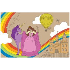 Lullubee Perfect Princess Giant Coloring Mural