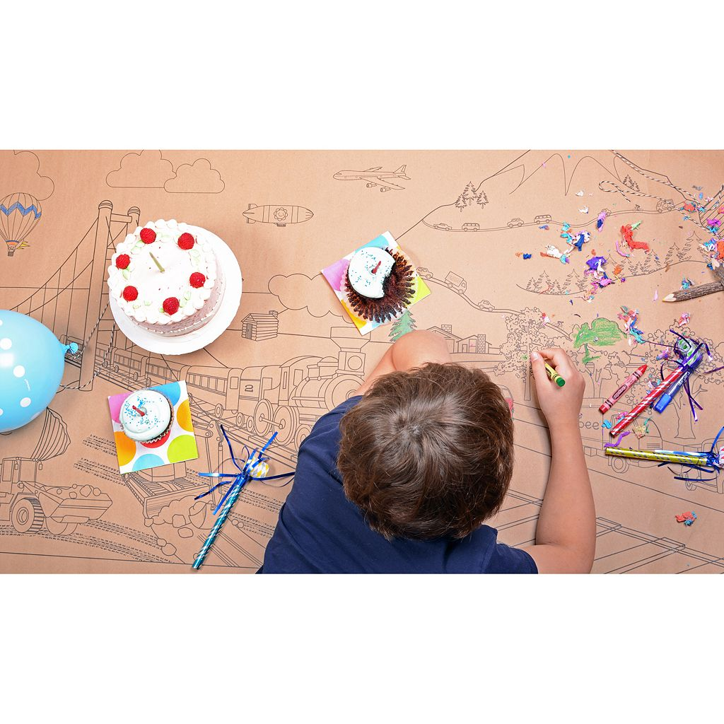 Lullubee On The Go Giant Coloring Mural