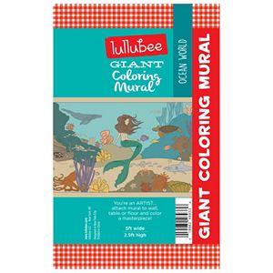 Lullubee Ocean World Giant Coloring Mural