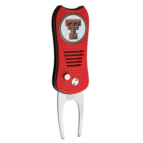 Team Golf Texas Tech Red Raiders Switchfix Divot Repair Tool