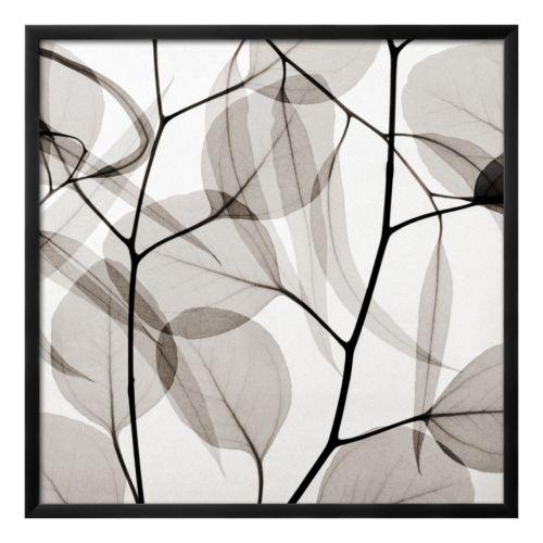 Art.com Eucalyptus Leaves (Positive) Framed Wall Art