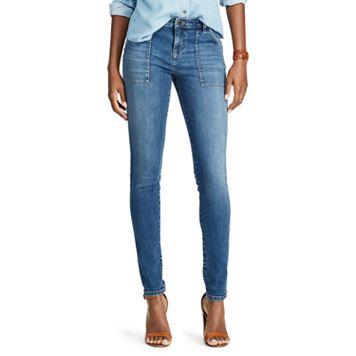 Petite Chaps Slim Fit Stretch Skinny Jeans