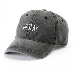 "Women's SO® ""#SLAY"" Baseball Cap"