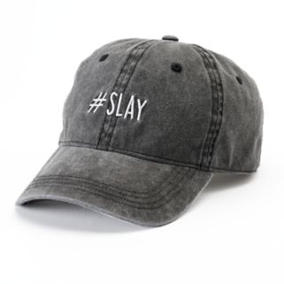 "Women's SO® ""#SLAY"" Baseball Cap"