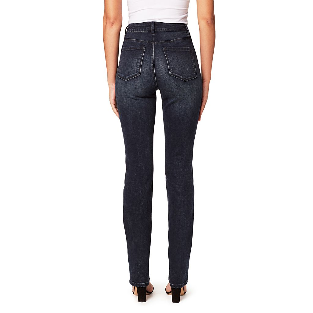 Women's Miracle Jean Dream Slimming High-Rise Straight-Leg Jeans