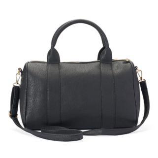 Yoki Pebbled Crossbody Mini Duffel Bag