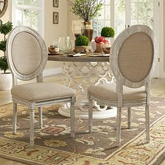 HomeVance Piper Dining Chair 2 Piece Set