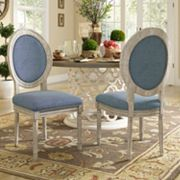 HomeVance Piper Dining Chair 2 pc Set