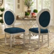 HomeVance Piper Dining Chair 2-piece Set