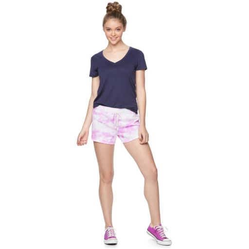 Juniors' SO® French Terry Lounge Shorts