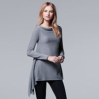 Women's Simply Vera Vera Wang Simply Separates Asymmetrical Top