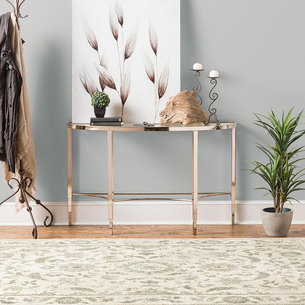 Karastan Studio Serenade Cavatina SmartStrand Framed Floral Rug