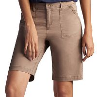 Women's Lee Beatrix Relaxed Fit Twill Bermuda Shorts