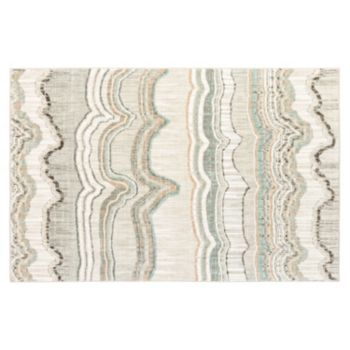 Karastan Studio Serenade Interlude SmartStrand Striped Rug