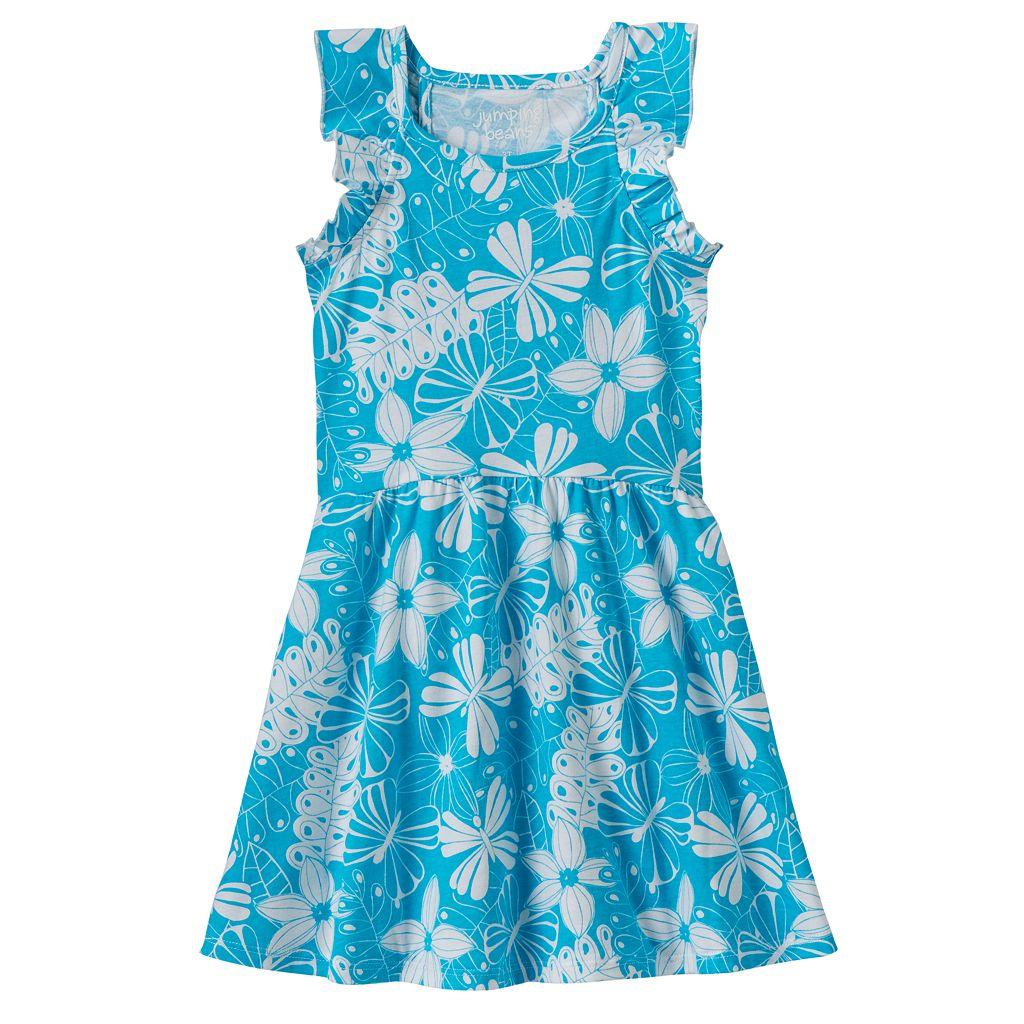Toddler Girl Jumping Beans® Print Flutter Dress