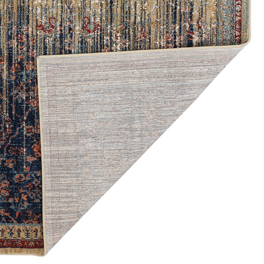 Karastan Studio Wanderlust Reuss EverStrand Framed Floral Rug