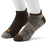 Men's Avalanche 2-pack Wool-Blend Outdoor No-Show Socks