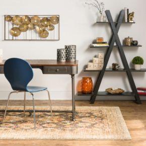 Karastan Studio Wanderlust Spree EverStrand Framed Floral Rug