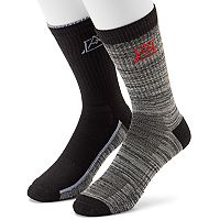Men's Avalanche 2-pack Wool-Blend Outdoor Crew Socks