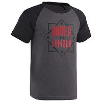 Boys 4-7 Under Armour Lead Off Home Plate Raglan Tee