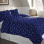 Pointehaven Flannel Duvet Cover Set