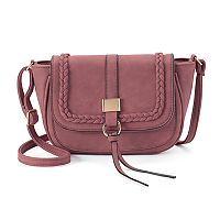 Kiss Me Couture Braided Crossbody Bag