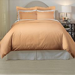 Pointehaven 3-piece 620 Thread Count Cotton Duvet Cover Set