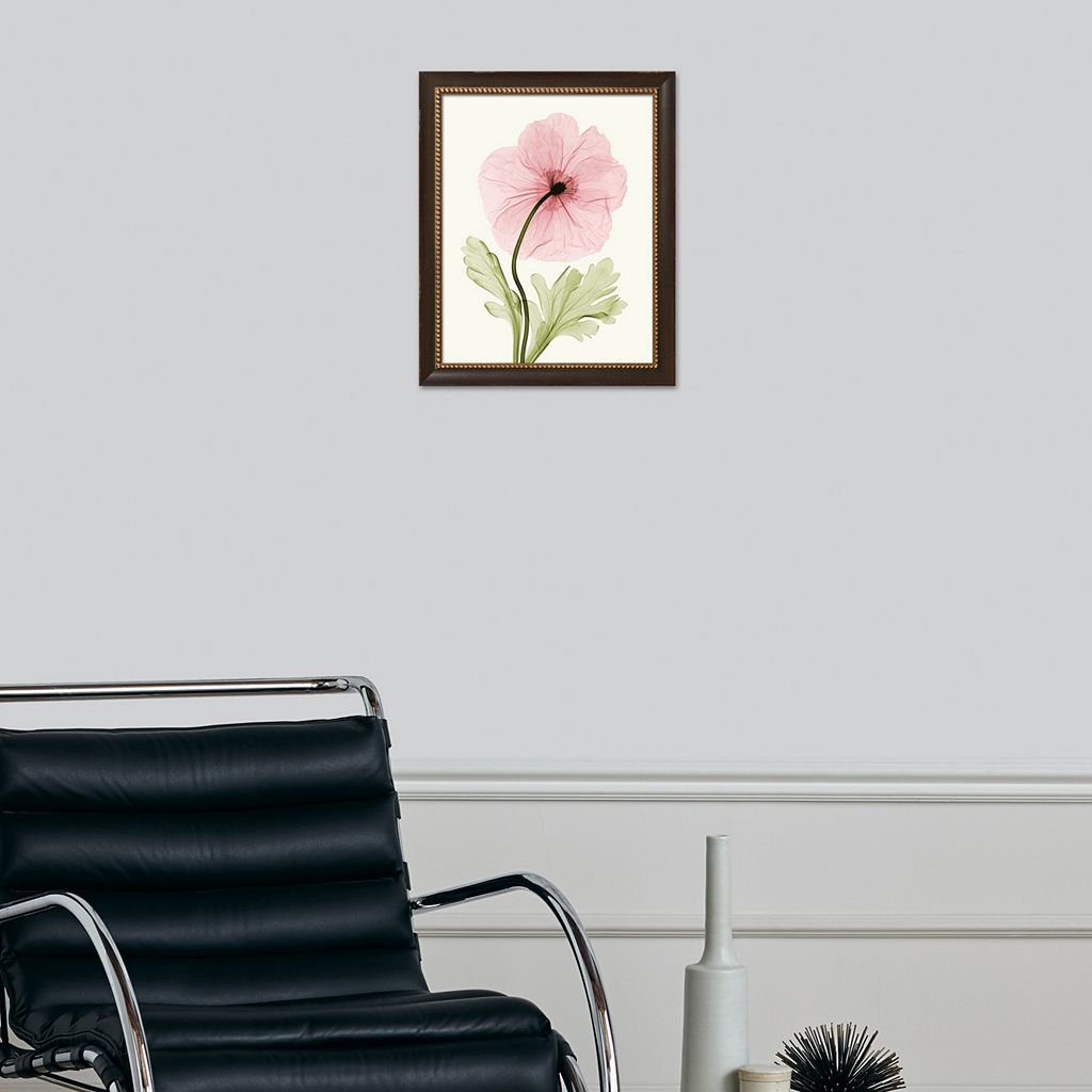 Art.com Iceland Poppy I Embellished Framed Wall Art
