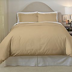 Pointehaven 410 Thread Count Cotton Duvet Cover Set