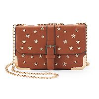 Kiss Me Couture Star Studded Crossbody Bag