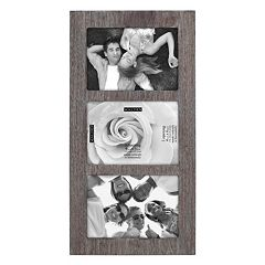 Malden Linear Distressed 3-Opening 4'' x 6'' Frame