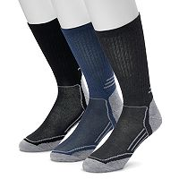 Men's Croft & Barrow® 3-pack True Comfort Crew Socks